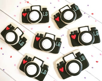 Camera Cookies | Photographer Cookies | Photography Cookies | One Dozen