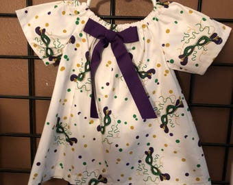 Girl's Mardi Gras Dress