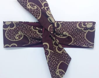 HEADBAND EDDY wax purple