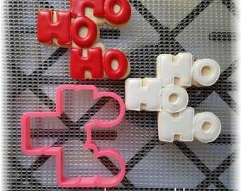 Christmas Ho Ho Ho Cookie Cutter