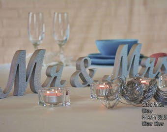 Mr and Mrs, Mr and Mrs Sign, Mr and Mrs Table Sign, Mr and Mrs Wedding Gift