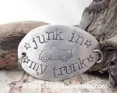 Upcycled Handstamped Inspirational interchangeable Spoon Bracelet Base