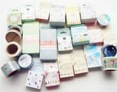 25 Pcs BIG SALE  washi tapes