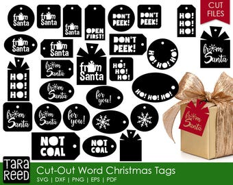 Christmas Gift Tag svg bundle / svg bundle / Christmas svg / svg for cricut / svg for silhouette / COMMERCIAL USE PERMITTED