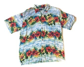 Vintage Hawaiian Party Shirt