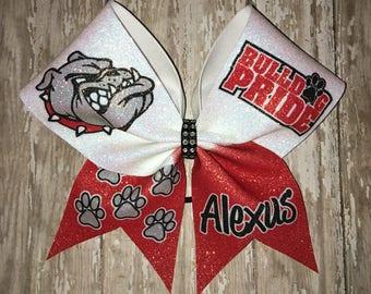 School cheer bow