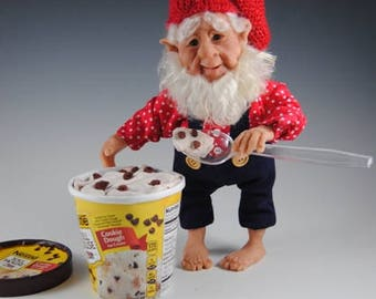 "Fantasy Art Doll/Elf/""Roarke and His Late Nite Snack"""