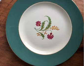 Homer Laughlin Berkshire Cavalier Dinner Plate