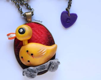 Toy Duck Necklace (Nightmare Before Christmas)
