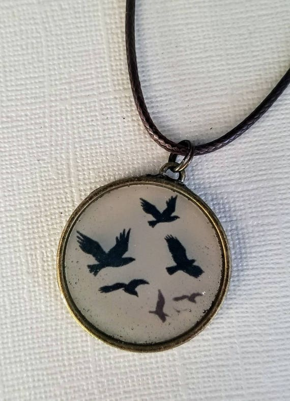 South for the Winter - color changing necklace