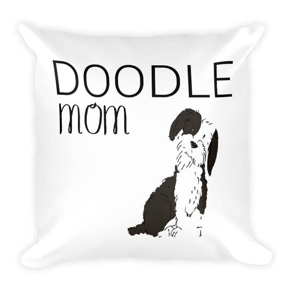 Custom Dog Square Pillow, Personalized Pillow, Dog Pillow, Custom Pillow