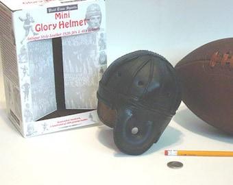 1930-1940 Mini Chicago Bears Leather Football Helmet (1/3 scale)