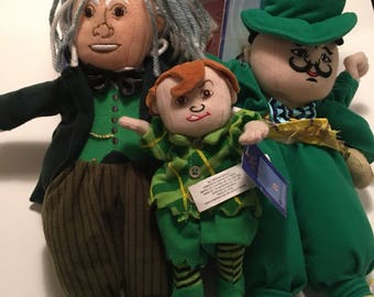 Wizard Of Oz Emerald City Plushes