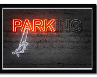 Affiche Parking by Octavian Mielu