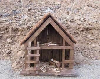 Nativity Stable Etsy