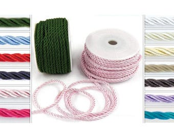 Cord - Colored Cords - Craft Supplies - Wedding Supplies - Cord Ribbon - Party Supplies  - Accessories - Choose Color