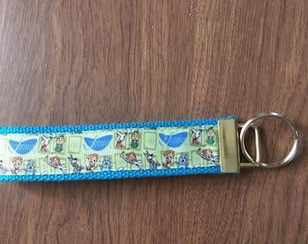 The Jetsons Key Chain Wristlet Zipper Pull