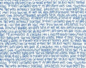 Architextures - Scribble Notes in Blueprint - Carolyn Friedlander - Robert Kaufman (AFR-13501-387)