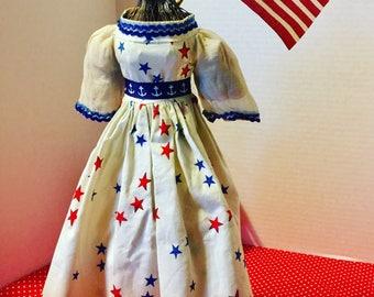 Vintage Miss Liberty