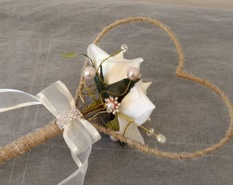 Rustic Flower Girl Wand...