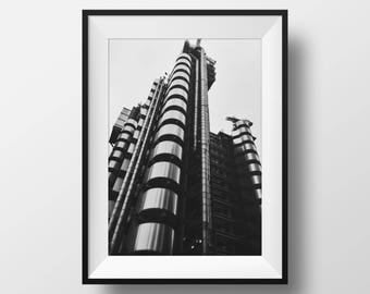 Lloyds Bank Building, London - Photography Print