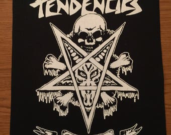 Suicidal Tendencies Cloth Back Patch
