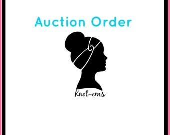 Auction Order - Krystal KC