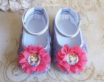 Sofia the First Birthday Outfit - Sofia the First Birthday - Princess Sofia Birthday Outfit - Princess Sofia Shoes