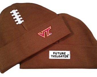 Virginia Tech Hokies Baby Football Cap