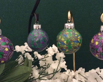 Christmas Ornaments - Set of four