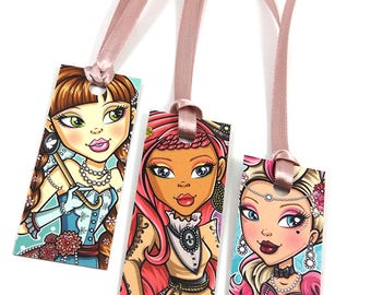 Girls Princess Mini Bookmarks