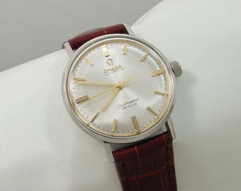 Omega Seamaster De Ville Vintage Automatic Watch #B081