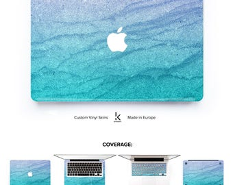 Macbook Pro Air Skin Serenity Waves Skin Macbook Pro Skin Macbook Air Skin Macbook Cover Macbook Decal# Serenity Waves