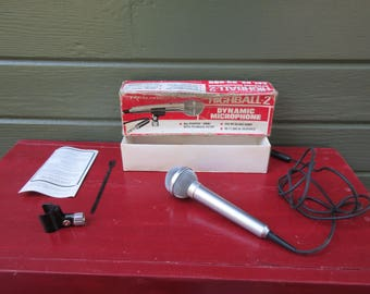 Vintage Realistic Highball 2 Dual Impendence Dynamic Microphone in Box