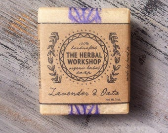 Lavender & Oats - Organic Soap