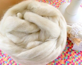 ROVING - Wensleydale Combed Top  BONUS - Free shipping within US