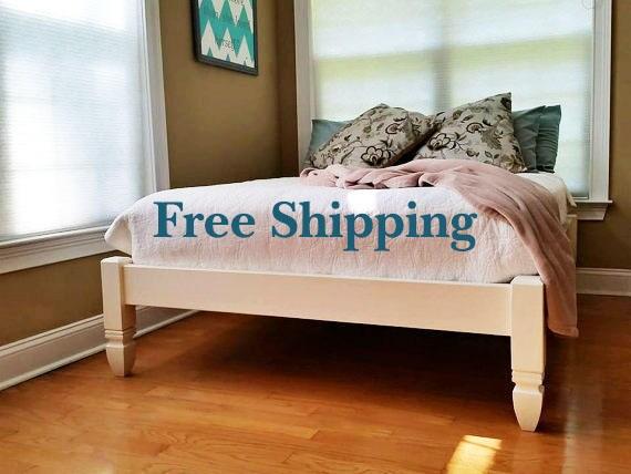 Bed Frame Platform Bed Low Profile Bed Chelsea Bed Frame 4