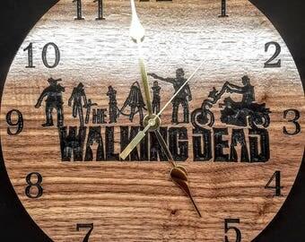 Walking Dead Clock