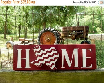 Texas Home Sign, Aggie Maroon Texas Home Sign, Texas Aggies, Rustic Texas A&M inspired Home Sign, Southern Decor, Farmhouse Decor, Gig Em