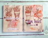 Visual Thoughts III - artbook illustrated book sketchbook comic graphic novel visual diary