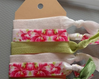 Soft Elastic No Pull Hair Ties for Women or Girls