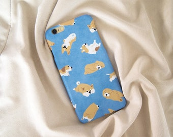 Sleepy Dog iPhone case, iPhone X case, iPhone 8 Plus, iPhone 8 case, iPhone 7 Plus case, iPhone 7 case, iPhone 6S case, iPhone 6S Plus case