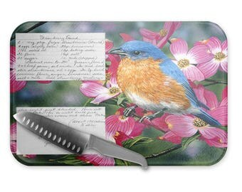 Glass Cutting Board Recipe Card/Kitchen Housewarming Gifts/Cutting boards personalized/Wedding Gifts/Kitchen/Chef Gifts