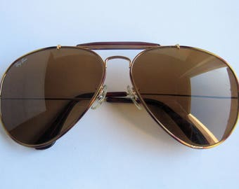 Ray Ban aviator vintage sunglasses made in USA.
