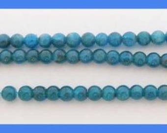 Apatite Rounds - 4mm by the Strand - 15 to 16 inch strand
