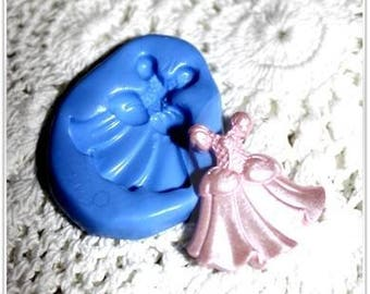 Dress 30 mm silicone mold