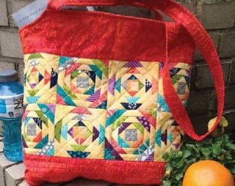 "Pineapple Sizzle Tote Pattern 16"" x 16""  CLPJAW052"
