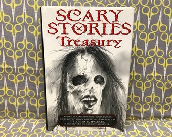 Scary Stories Treasury by Alvin Schwartz  Scary Stories to Tell in the Dark, More Scary Stories, Scary Stories 3 Vintage Horror Collection
