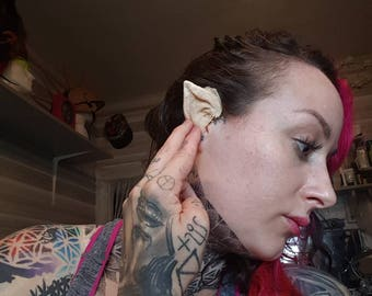 elf pixie demon ear tips latex