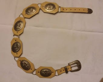Ladies Western Concho Belt